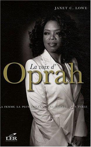 9782895850502: La voie d'Oprah