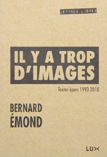 IL Y A TROP D'IMAGES : TEXTES ÉPARS 1993-2010: �MOND BERNARD