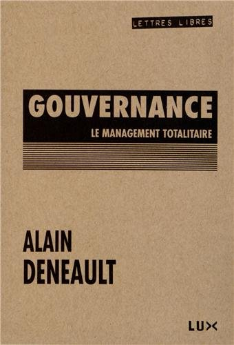 9782895961550: Gouvernance