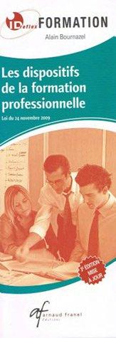 9782896033362: les dispositifs de la formation professionnelle (4e édition)