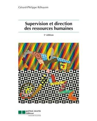 9782896320851: Supervision et direction des ressources humaines