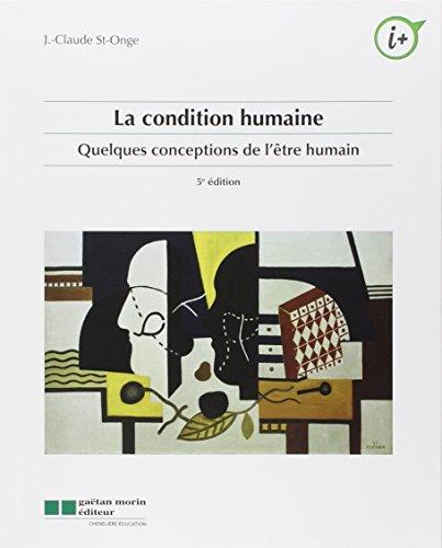 Condition humaine: St Onge, Renée