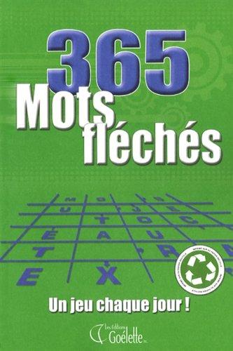 9782896383290: 365 MOTS FLECHES VOL.1