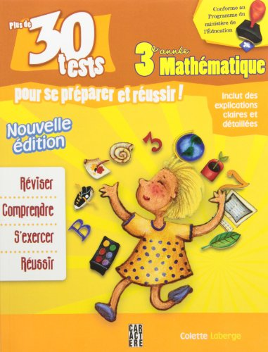 3e ann?e math?matique N.E.: Laberge, Colette