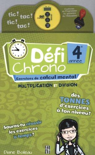 D?fi Chrono 4e ann?e: Boileau, Diane
