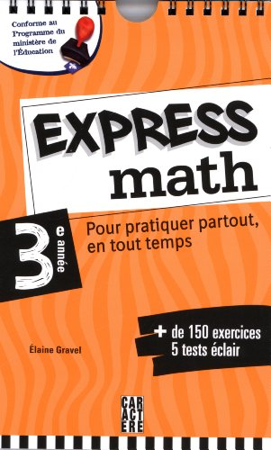 EXPRESS MATH 3EME ANNEE: COLLECTIF