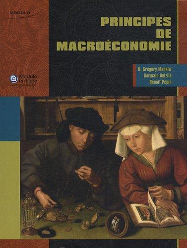 Principes de macroéconomie (French Edition): Mankiw Gregory