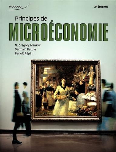 PRINCIPES DE MICROECONOMIE: MANKIW 2E ED 2014