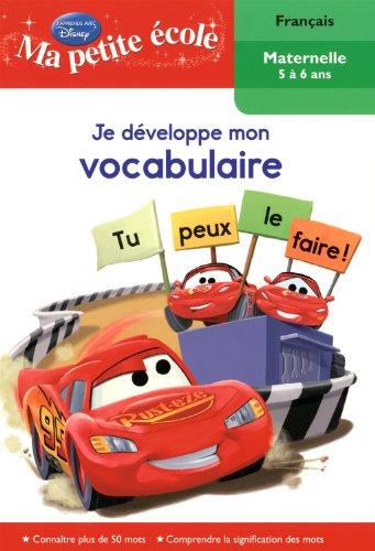 Je developpe. vocabulaire 5/6-bagnoles: CHAUVEAU, DOMINIQUE