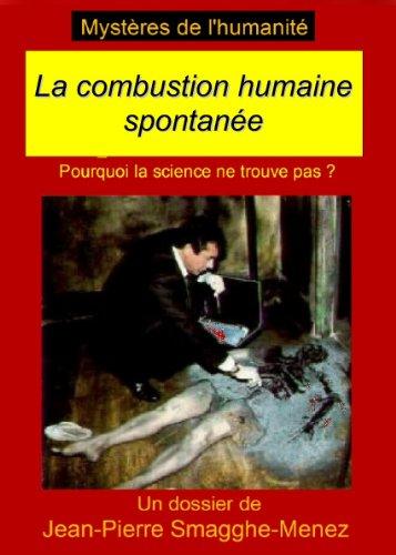 9782896630134: La combustion humaine spontanée