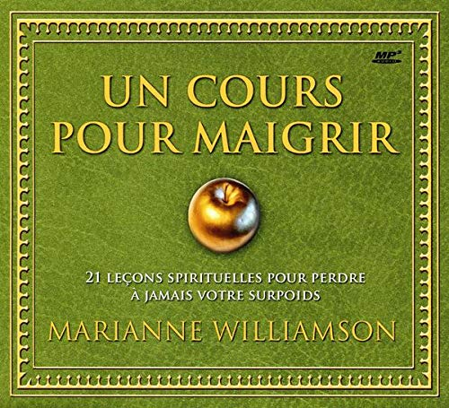 COURS POUR MAIGRIR-UN- CD: WILLIAMSON MARIANNE