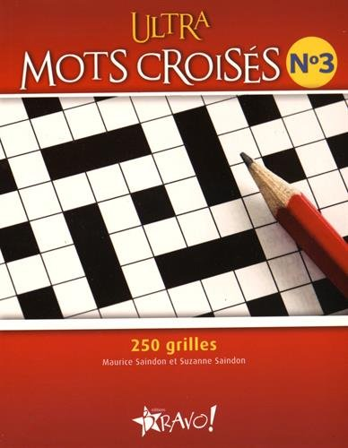 Ultra Mots croisés - Nº 3: Saindon, Maurice