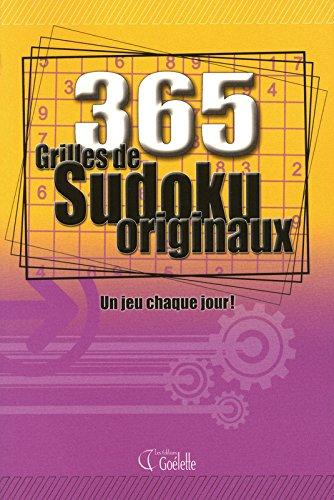 9782896900145: 365 grilles de sudokus originaux : Un jeu chaque jour