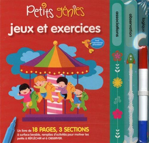 Petits Genies - Jeux et Exercices: Jaramillo, Gloria