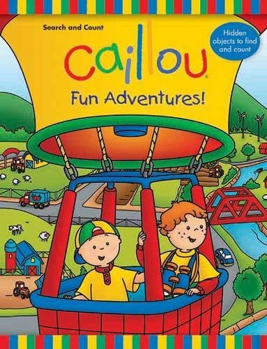 9782897180348: Caillou: Fun Adventures!: Search and Count Book