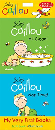 9782897180751: Baby Caillou: My Very First Books: All Clean! & Nap Time