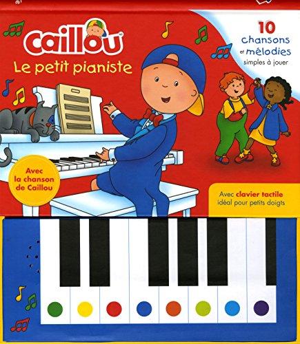 9782897184520: Caillou Le petit pianiste