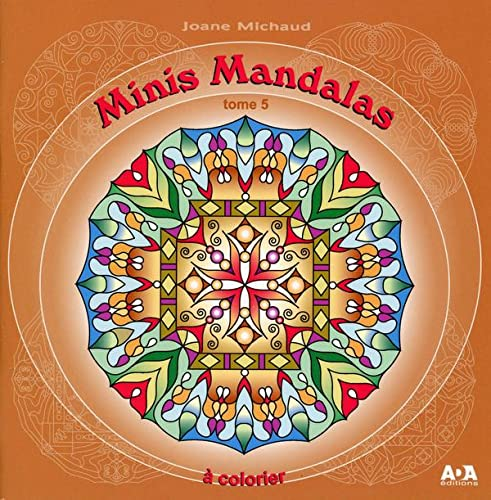 9782897335212: Minis Mandalas T5 - a colorier (French Edition)
