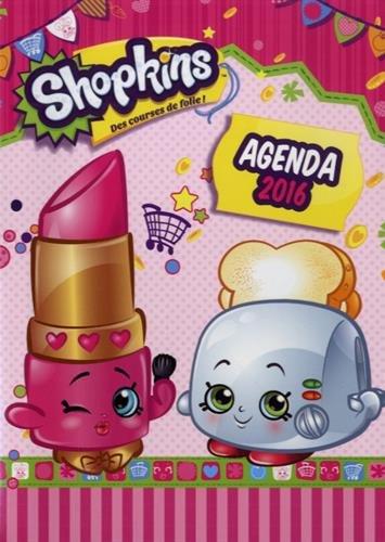 9782897511593: Agenda Shopkins 2016