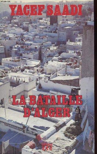 9782900016008: La bataille d'Alger (French Edition)