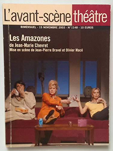 9782900130582: L'Avant-Sc�ne Th��tre n� 1148 ; Les Amazones