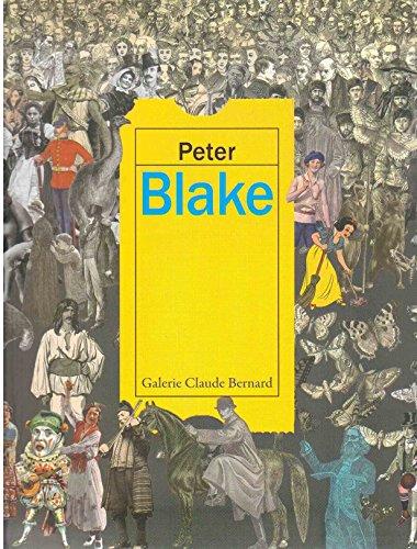 """Peter BLAKE """" Peintures et aquarelles """"------------ [ Texte Bilingue : Français &#..."""