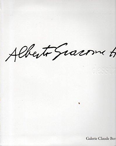 9782900953204: Alberto Giacometti: dessins