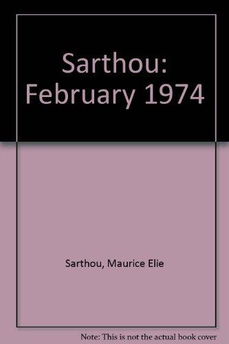 9782901016014: Sarthou: February 1974