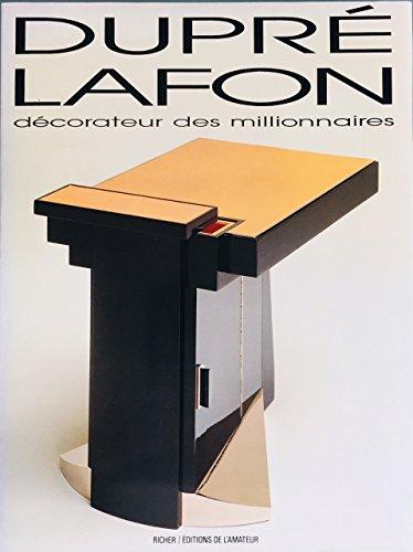 9782901151456: Paul Dupré-Lafon, décorateur des millionnaires