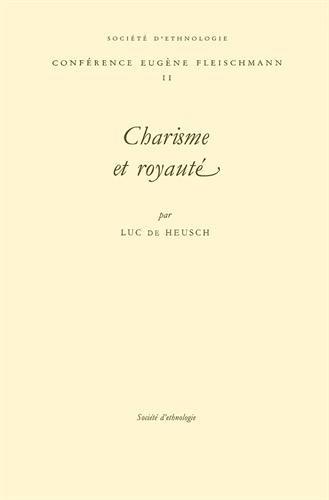 9782901161721: Charisme et Royaut�