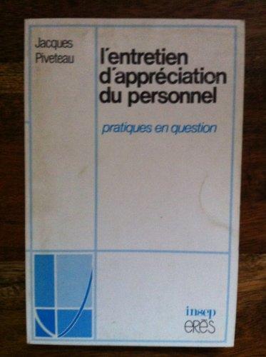 L'Entretien d'appréciation du personnel: Jean Piveteau