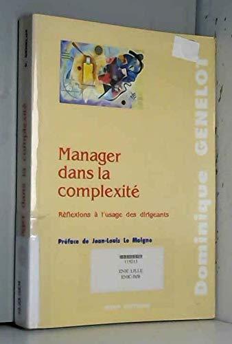 9782901323440: Manager dans la complexité