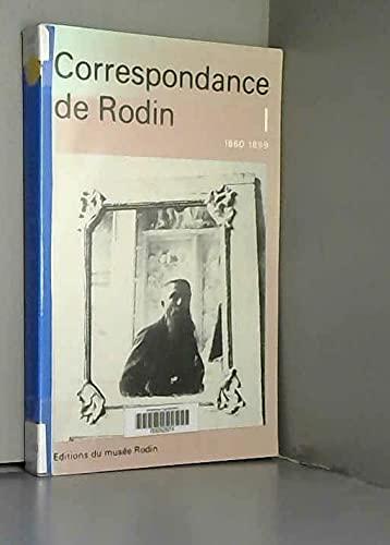9782901428084: Correspondance de Rodin (French Edition)