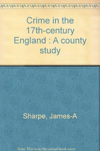 9782901725848: crime in 17th century eng