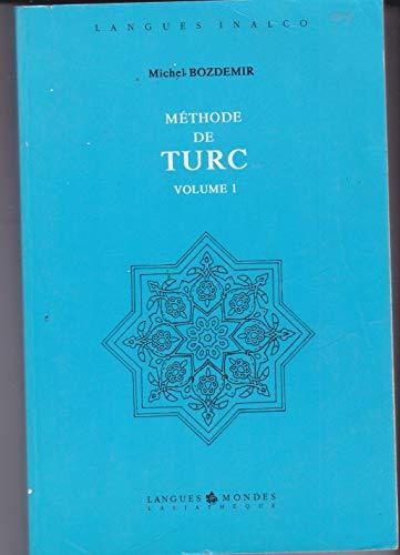 9782901795810: Méthode de turc, volume 1, 3e édition