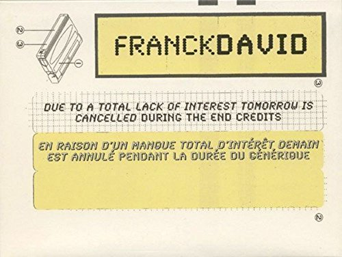 9782901833765: Franck David (Fra/Ang) (Project Room)
