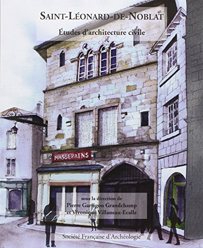 9782901837480: Bulletin monumental 2014 supplément-St Léonard de Noblat