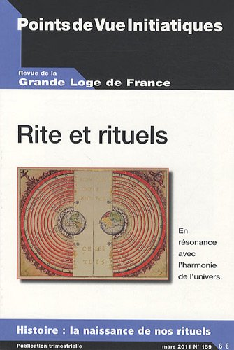 9782902116645: Points de Vue Initiatiques, N° 159, Mars 2011 : Rite et rituels