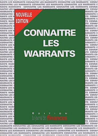 9782902370344: Conna�tre les warrants