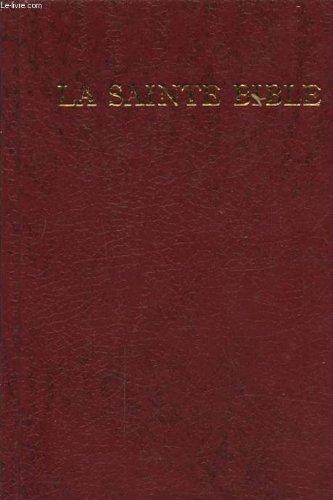 9782902628360: La sainte Bible