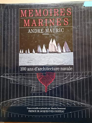 9782902634422: Memoires marines: 100 ans d'architecture navale (French Edition)