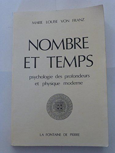 Nombre et temps : psychologie des profondeurs: Von Franz Marie