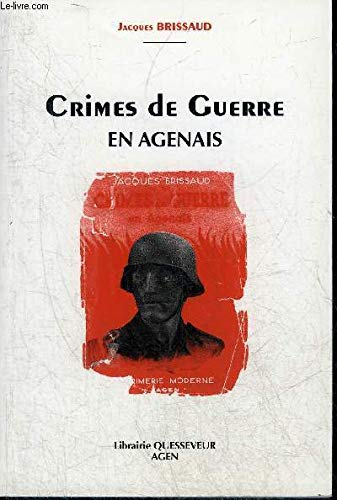 9782902717132: Crimes de guerre en Agenais