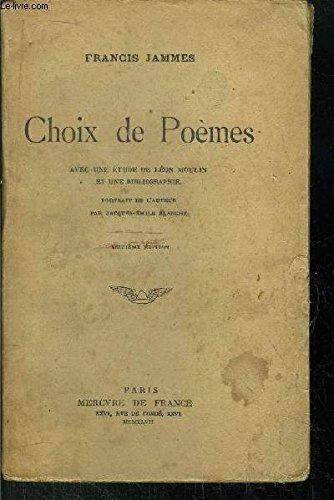 9782902995318: Choix de poèmes