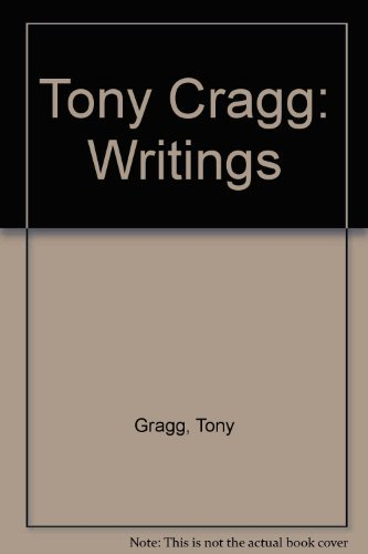 9782903004248: Tony Cragg: Writings