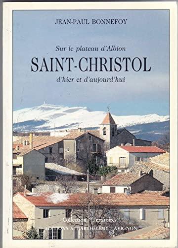 9782903044954: saint-christol d'albion