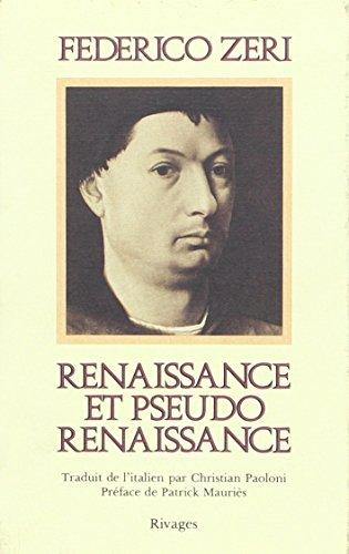 9782903059859: renaissance et pseudo-renaissance