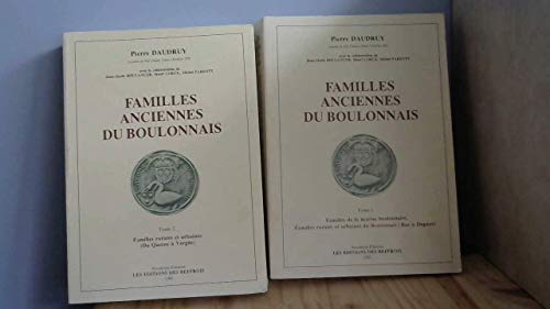 Familles anciennes du Boulonnais (Collection Histoire) (French Edition) (9782903077730) by Pierre Daudruy