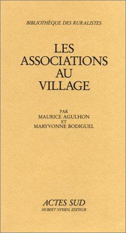 9782903098209: Les associations au village (Bibliothèque des ruralistes) (French Edition)
