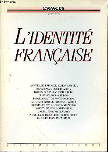 L'Identite francaise (French Edition): n/a